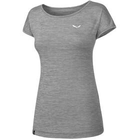 Salewa Puez Melange Dry Kortærmet T-shirt Damer grå